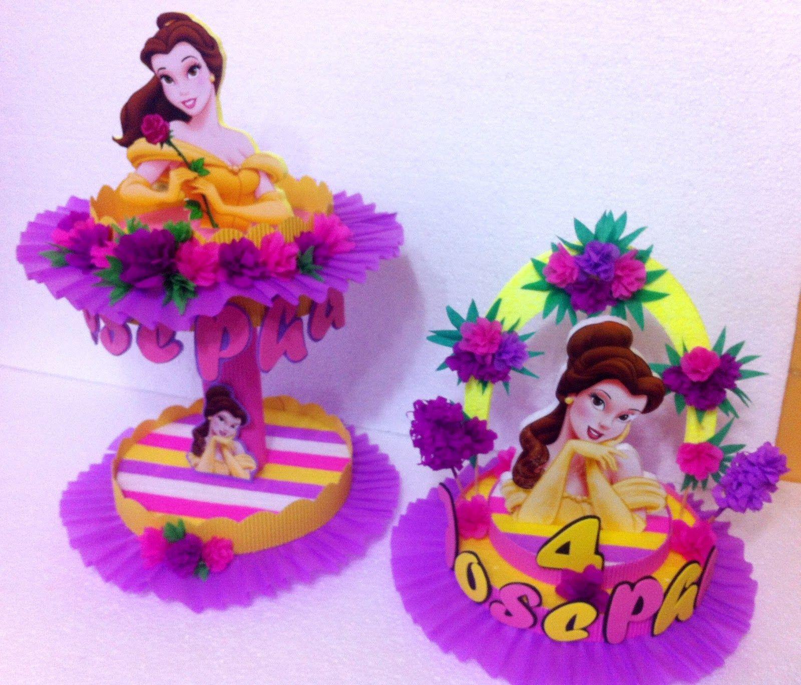 Decoraciones infantiles centro de mesa y dulceros - Mesas cumpleanos infantiles ...