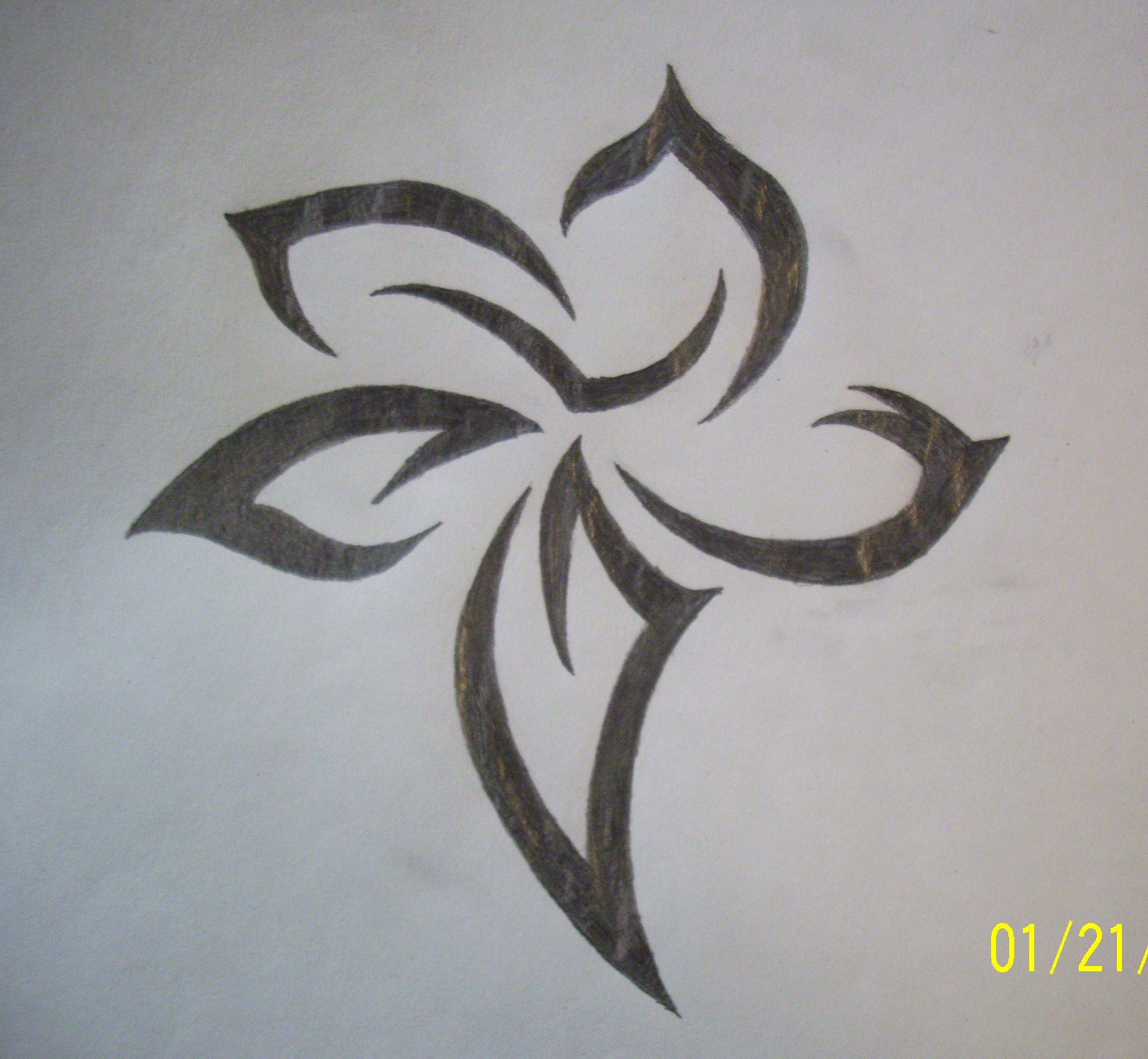 Pretty Drawings Of Flowers Picture Gallery D R A W I N G S