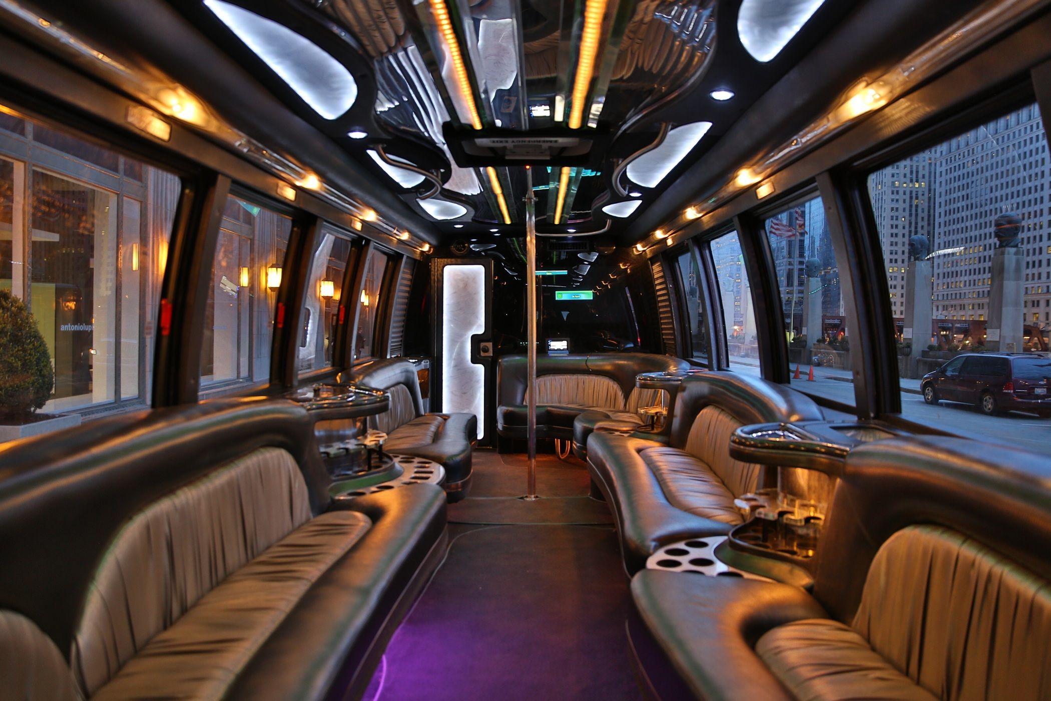 Mini Party Limo Bus to maximum 25 passengers 列車