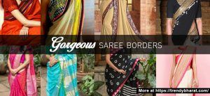 11 Saree Border Designs for a Complete Indian Look! Ethnic fashion Womens fashion Saree designs