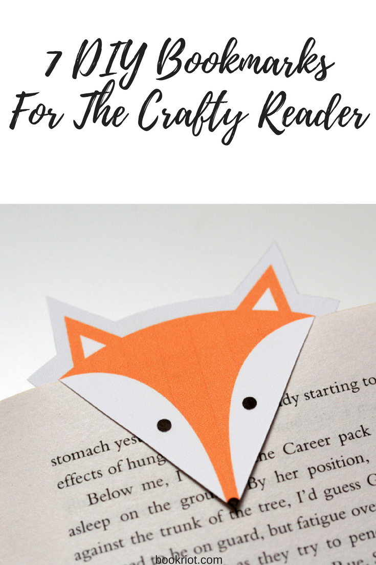 7 diy bookmarks for the crafty reader solutioingenieria Image collections