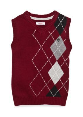 IZOD Argyle Sweater Vest Boys 4-7 | Argyle sweater vest and Products