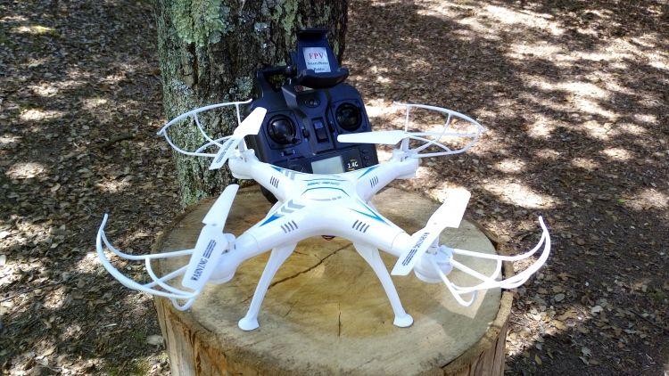 Drone SKRC Q16 - Super barato e com WiFi!