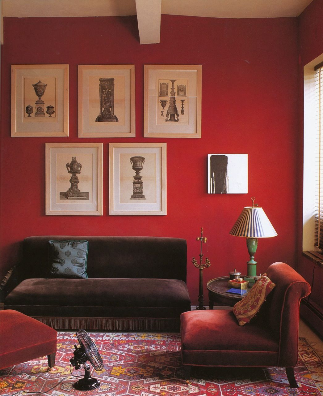 Red Paint Colors For Living Room Paint Dkc 17 Photo Peter Margonelli From Color Palettes The