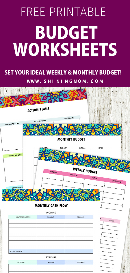free printable budget planner 2019 30 budget templates free