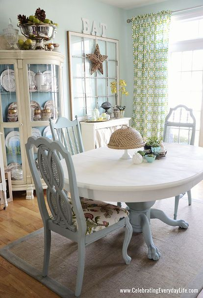 Dining Room Table And Chairs Makeover With Annie Sloan Chalk Paint, Chalk  Paintu2026