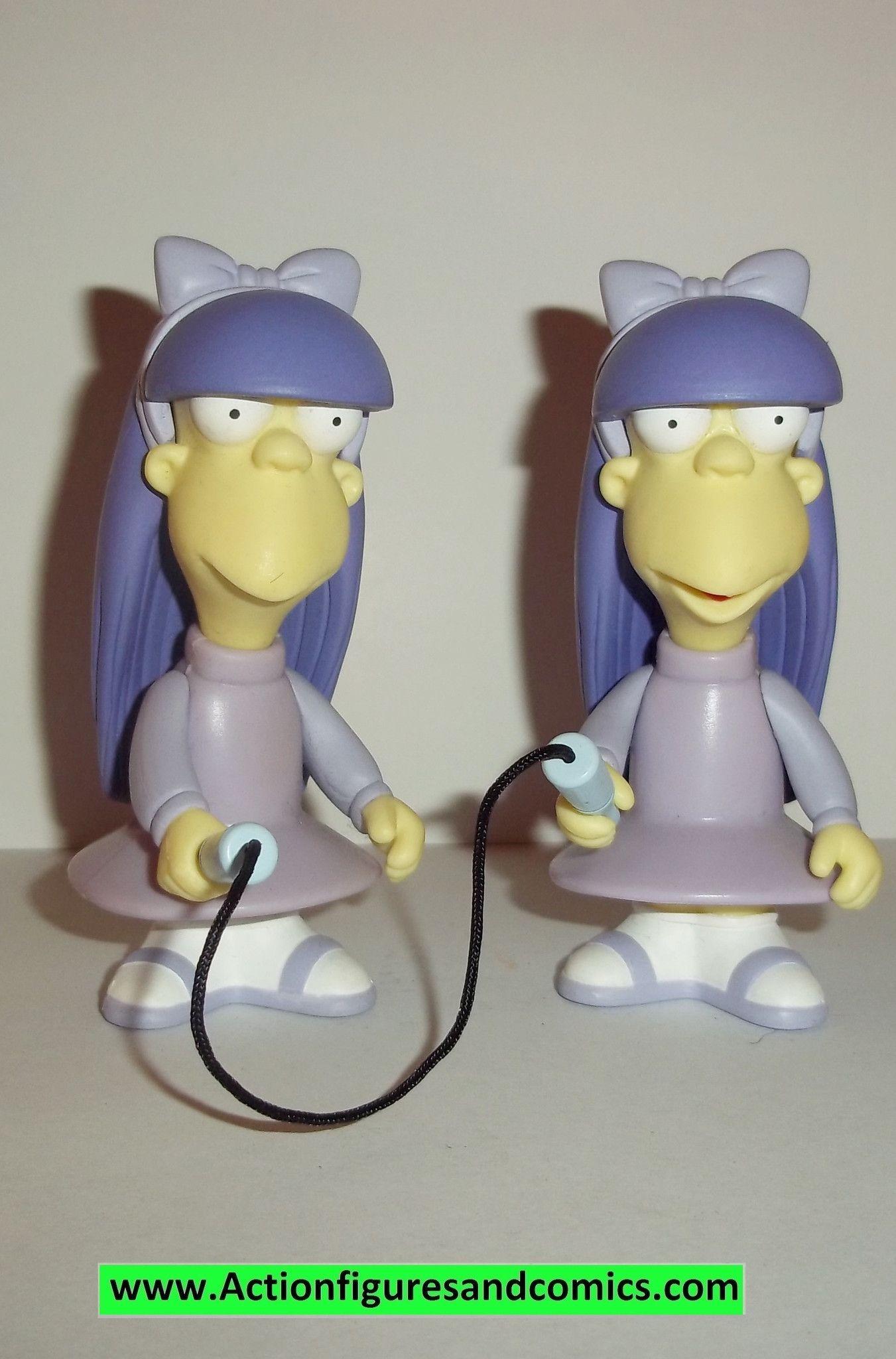 Simpsons SHERRI & TERRI twins 2002 series 8 complete wos