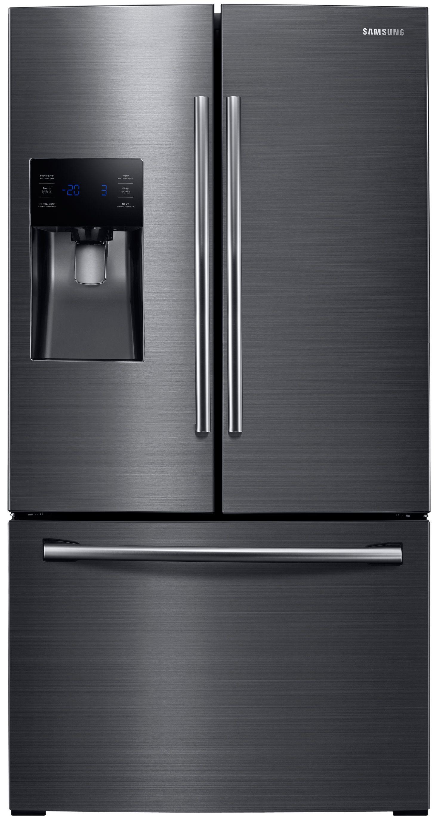 door refrigerators french refrigerator frigidaire inch stainless steel front