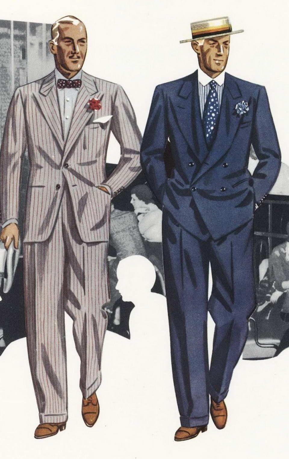 Pochwal Sie Swoja Stylizacja Vintage Clothing Men Mens Fashion Illustration Fashion Illustration Vintage
