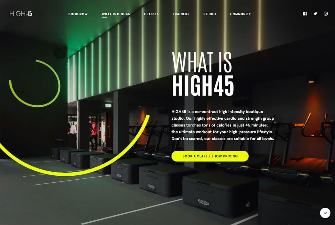 A Website We Have Built For A Local Orlando Client Falconics Has Been Awarded Orlando S Best Web Design Agency Website Backgrounds Modern Website Design Shack