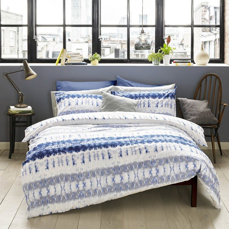Blueprint Arizona Bedding In Indigo Blue Duvet Cover Duvet Sets Bedding Sets Uk