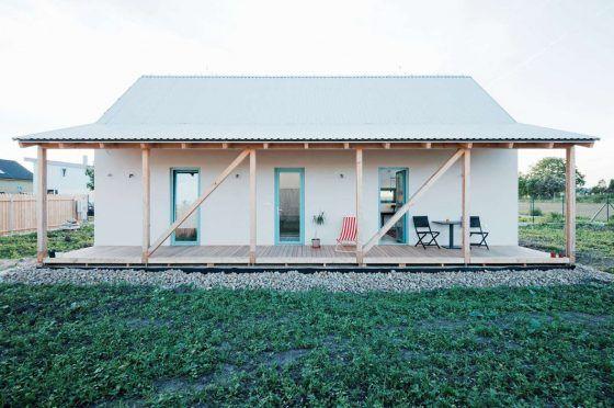Diseño de casa de campo moderna, estructura combina lo tradicional y - forum plan de maison