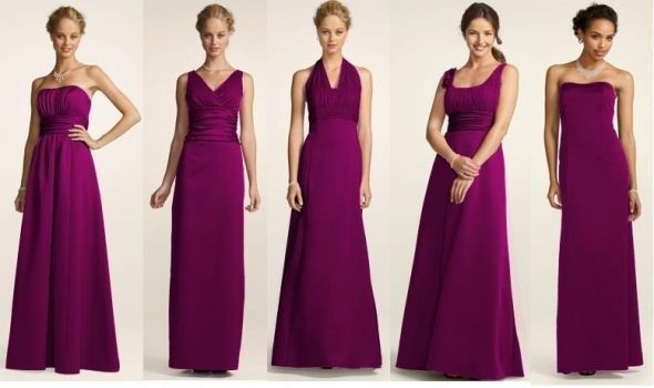 Sangria Bridesmaid Dresses I Like This Colour Too