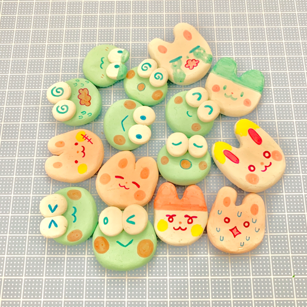 Photo of punimelt is creating art & sticker & enamel pin club | Patreon