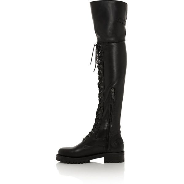 Dolce & GabbanaLeather Boots xQ2tcgHe4r