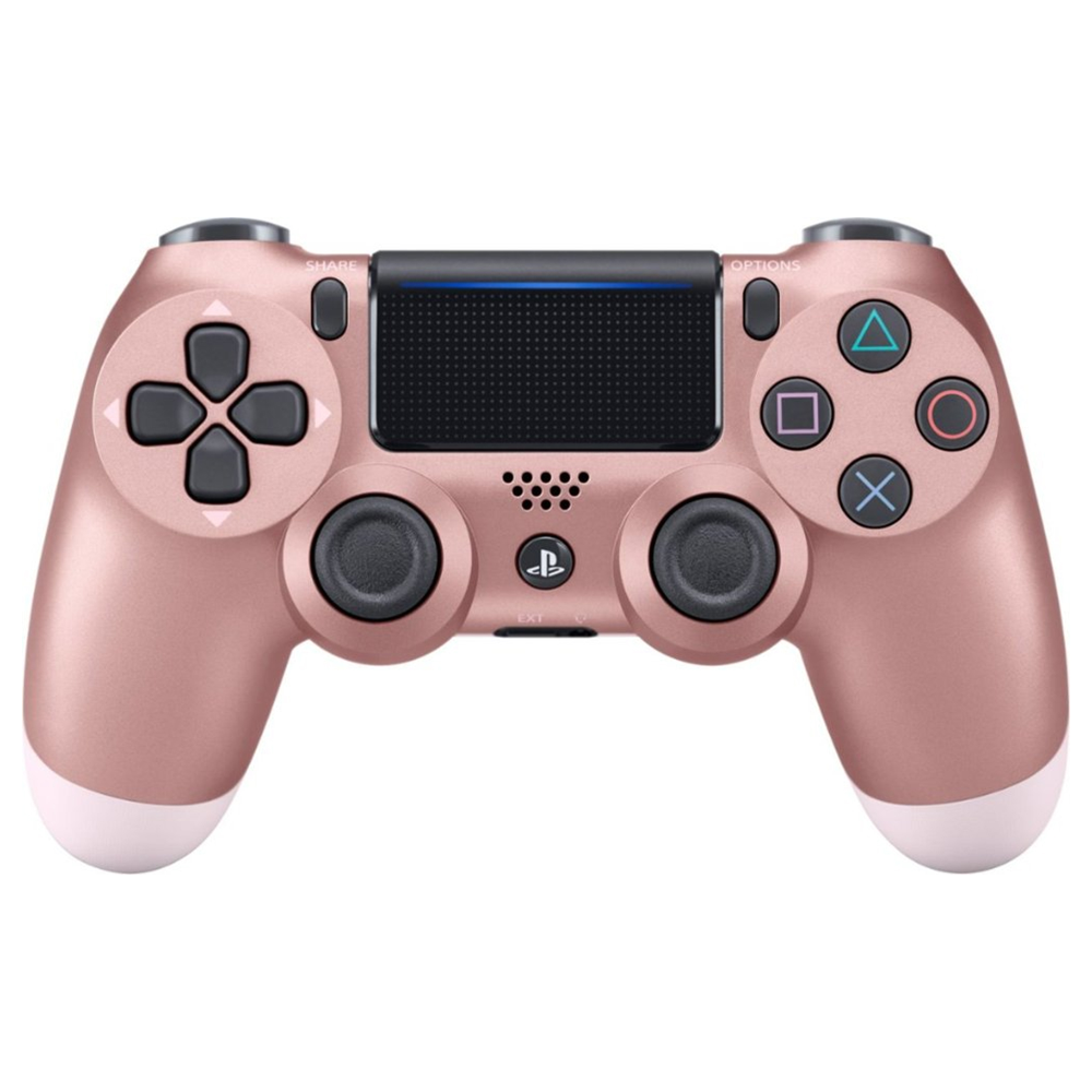 Dualshock 4 Wireless Controller For Playstation 4 Rose Gold Walmart Com Playstation Controller Ps4 Wireless Controller Ps4 Dualshock Controller