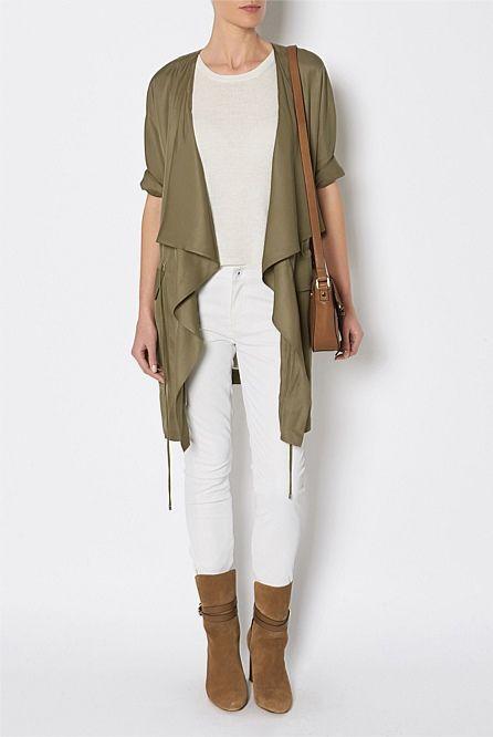 Women's Coats, Blazers & Leather Jackets - Witchery Online - Soft Utility Anorak
