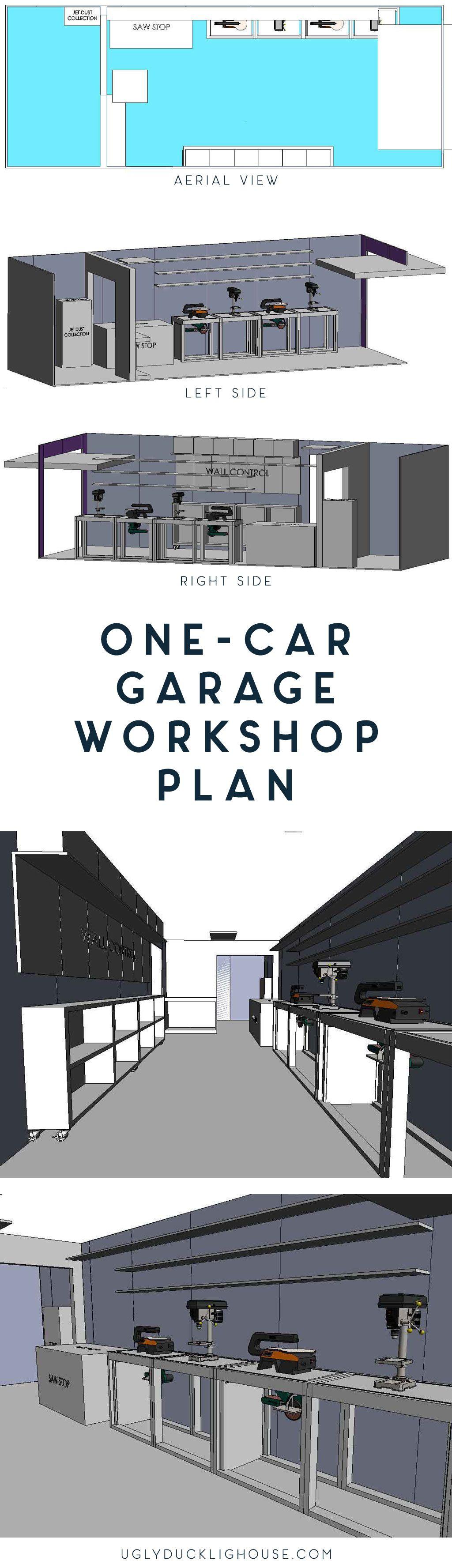 Photo of My One-Car Garage Workshop Plan