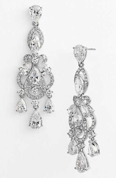 Nordstrom Nadri Legacy Crystal Chandelier Earrings 95 00 Item 934097