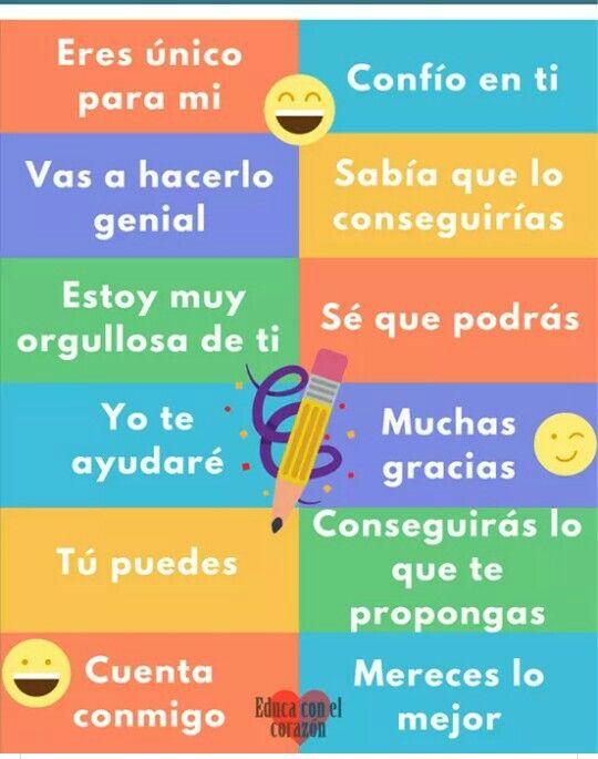 Frases Motivadoras Para Niños Y Mayores Autoestima Para