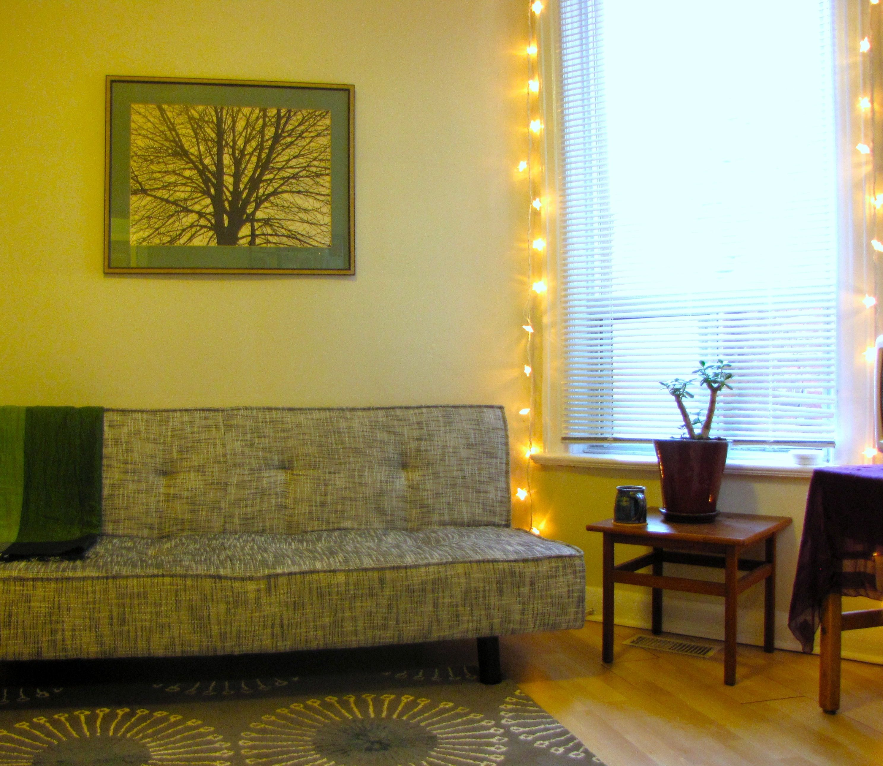 If you\'re apartment lacks natural light, string additional lighting ...