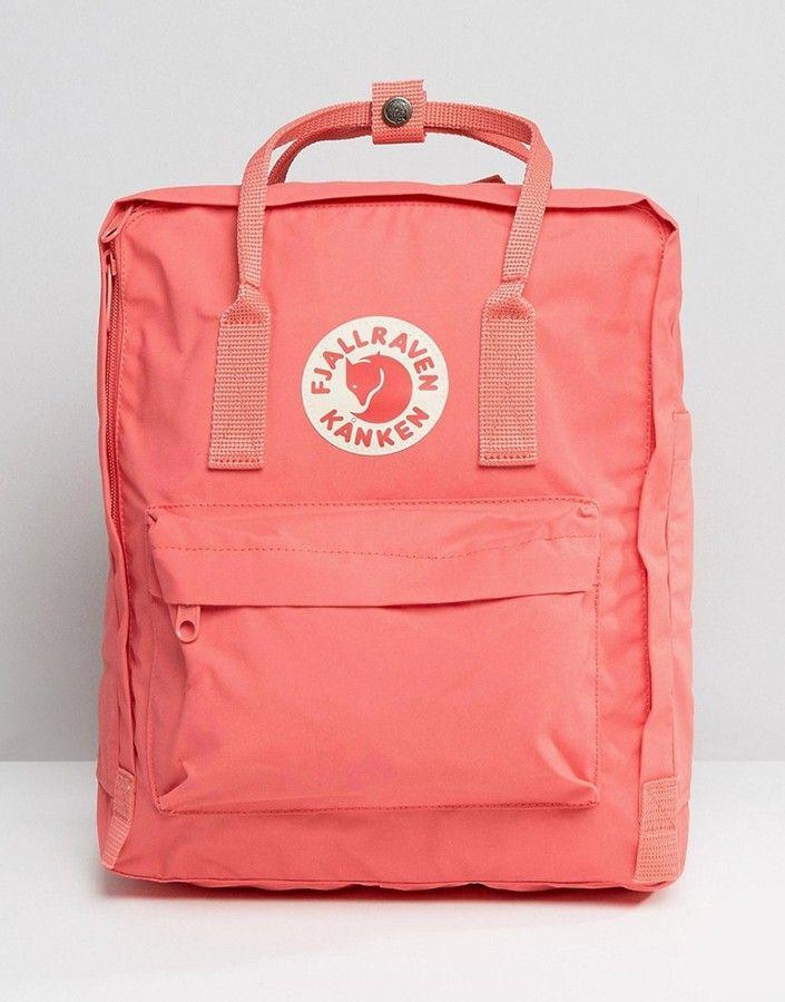 Fjallraven Kanken Classic Peach Pink Backpack | Bags, Pink