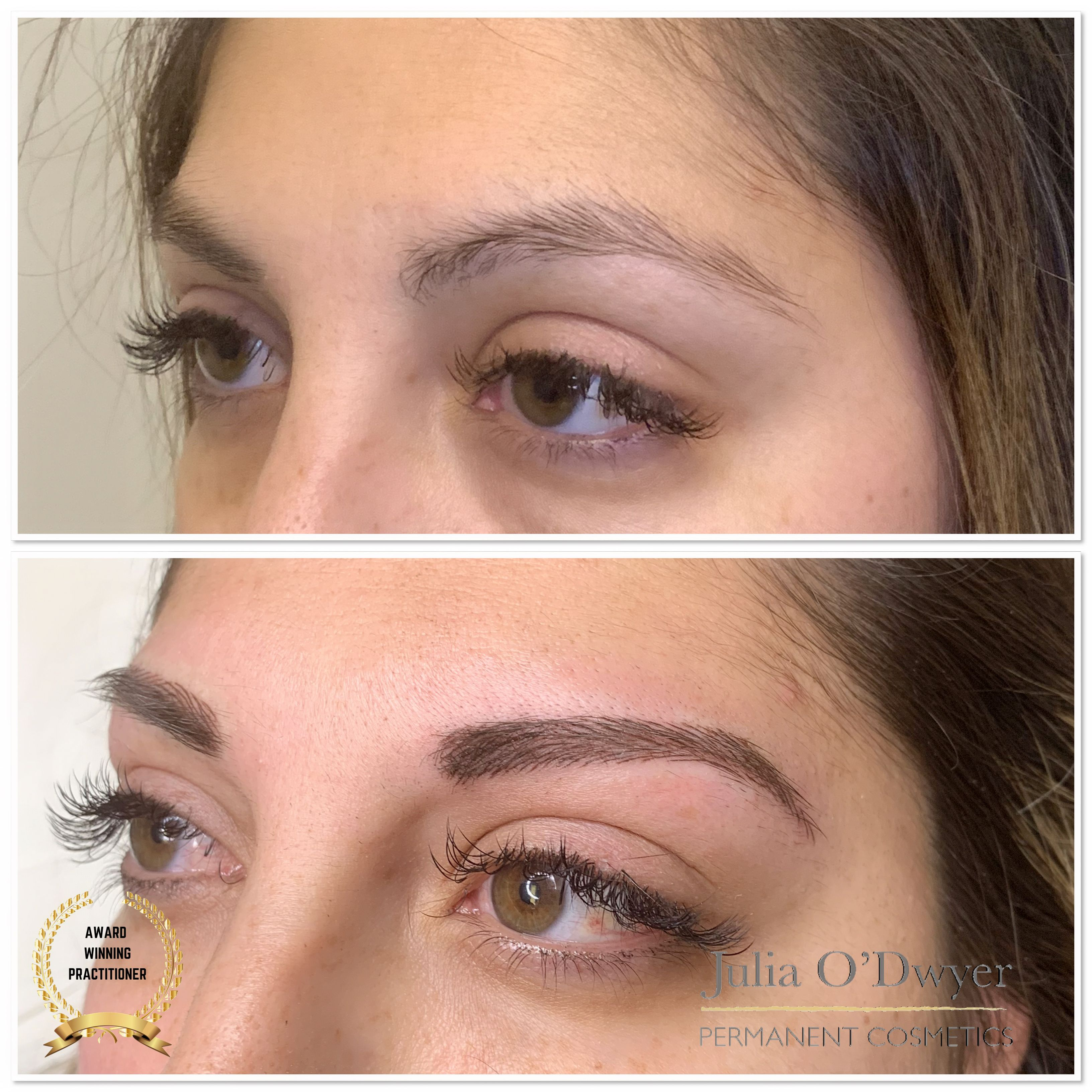 This client simply looks styled and stunning with her new hairstroke brows and eyelashes. They will heal very natural to just frame her beautiful eyes.   👉Multi Award Winning Practitioner 👉Changing life's 👉Free consultations ☎️07756967824 📧julia@julia-odwyer.com 🌐www.julia-odwyer.com 🗓juliaodwyer.book.app . . . .  #hairstrokebrows #beforeandafter #permanentmakeup #permanentbrows #permanenteyeliner #redlodge #microbladingeyebrows #love #brow #browtint #beautiful #volumelashes #perfectbrows
