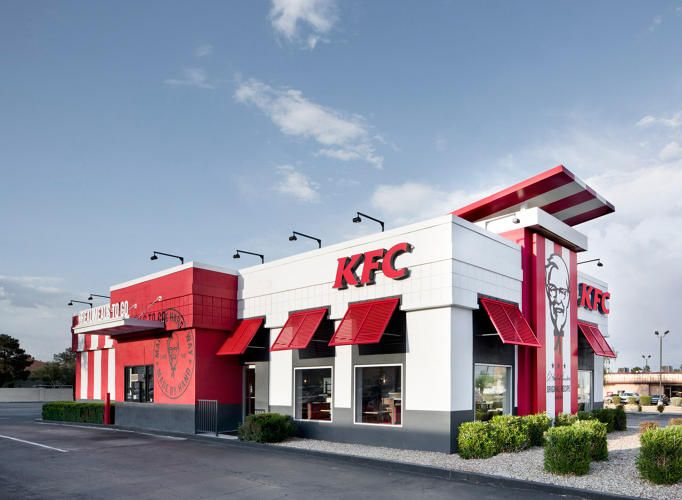 Kfc S Redesigned Store Looks Like A Half Finished Banksy With