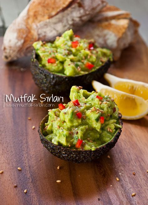 Avokado Salatası (Mezesi) – Mutfak Sırları –  Pratik Yemek Tarifleri