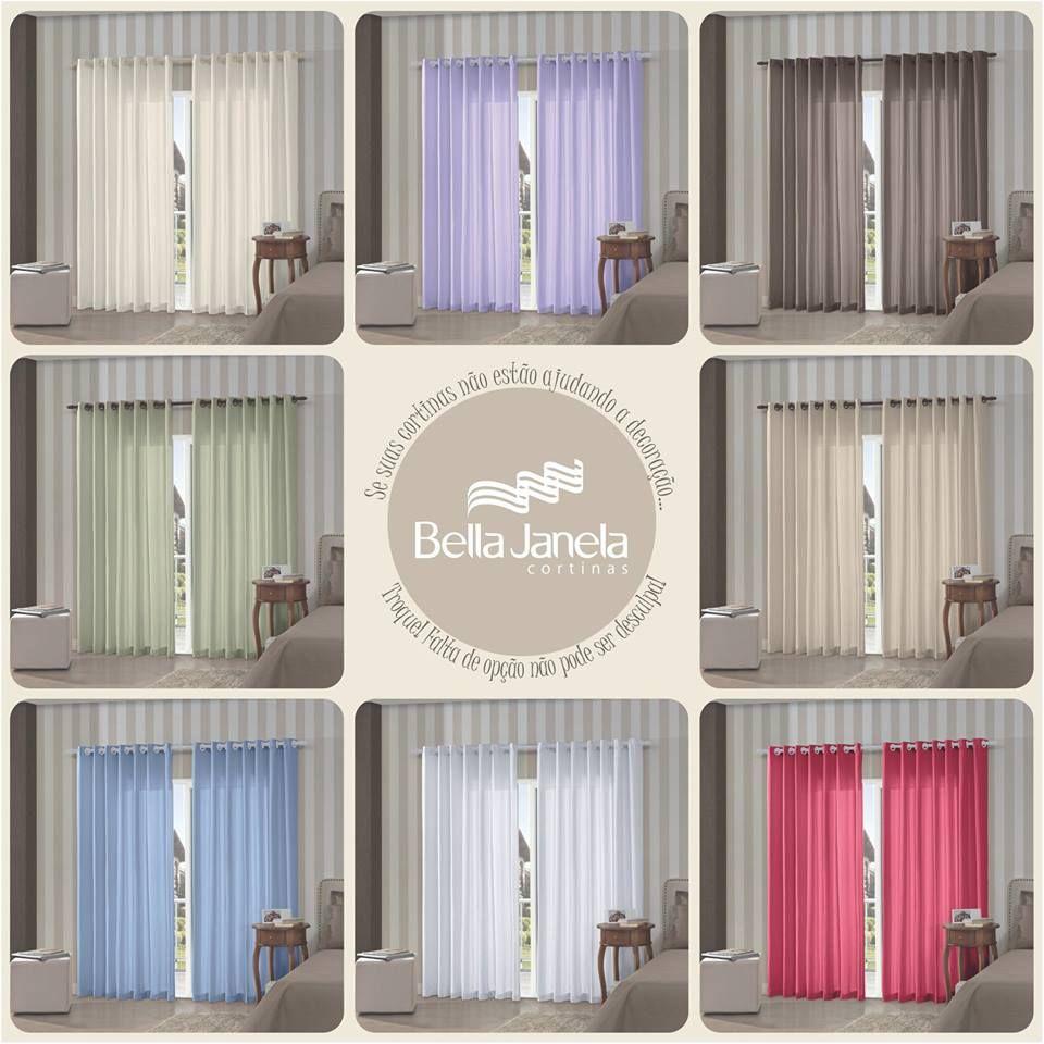 Se as cortinas da sua casa não estão mais combinando com toda a decoração, está na hora de trocá-las.... Falta de cores e opções não podem mais ser desculpa!