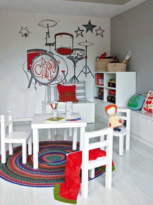 Tendencias habitaciones juveniles 2019 habitacion - Decoracion juvenil paredes ...