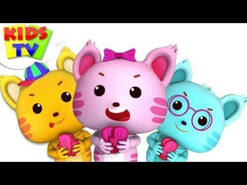 Three Little Kittens Little Eddie Cartoons