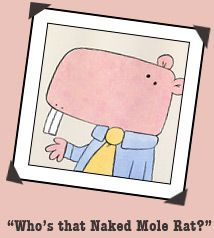 all about wilbur the naked mole rat facts and coloring page