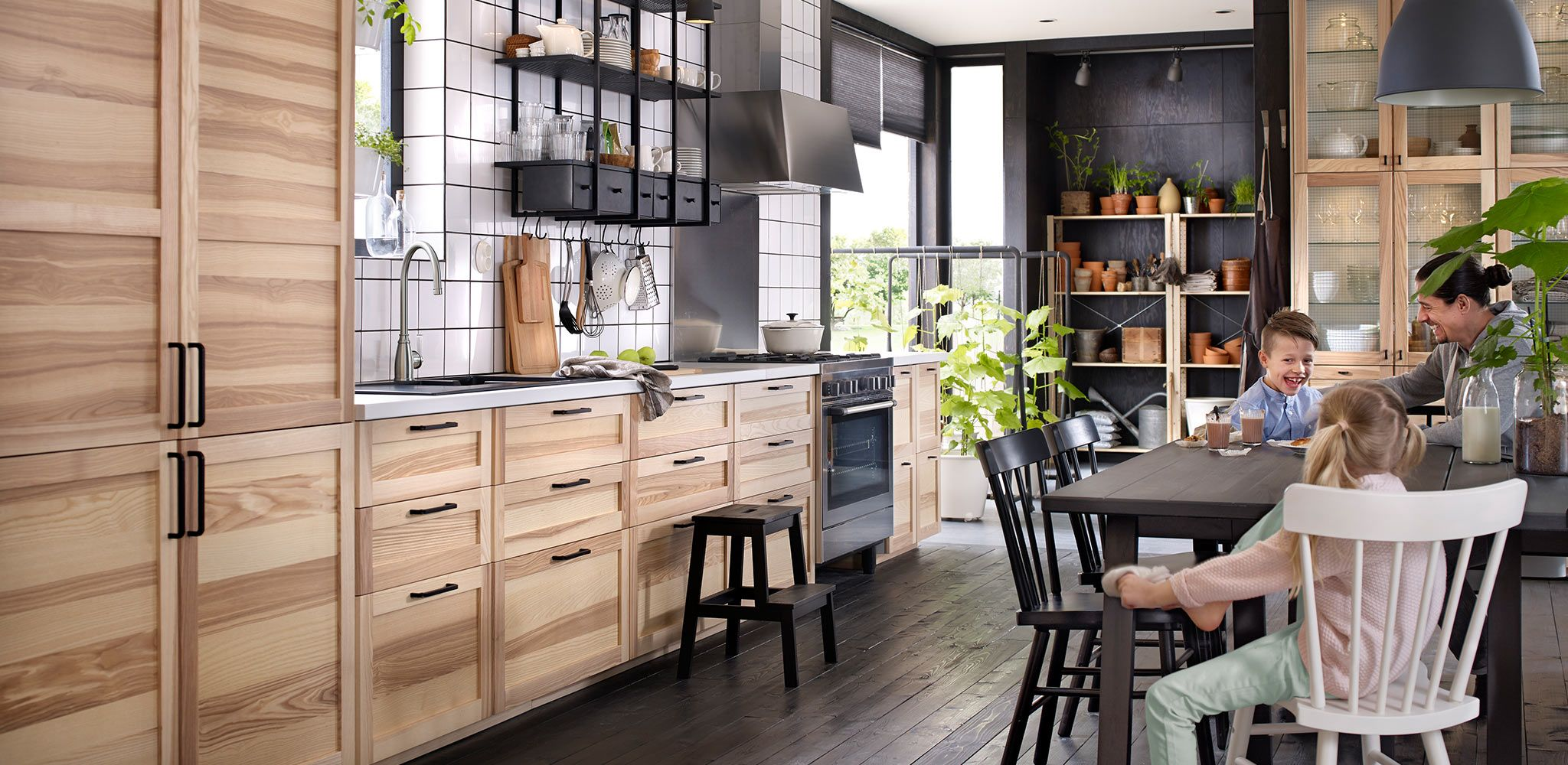 Küche Ikea Torhamn Torhamn Kitchen Konyha In 2019 Ikea Kitchen Lighting
