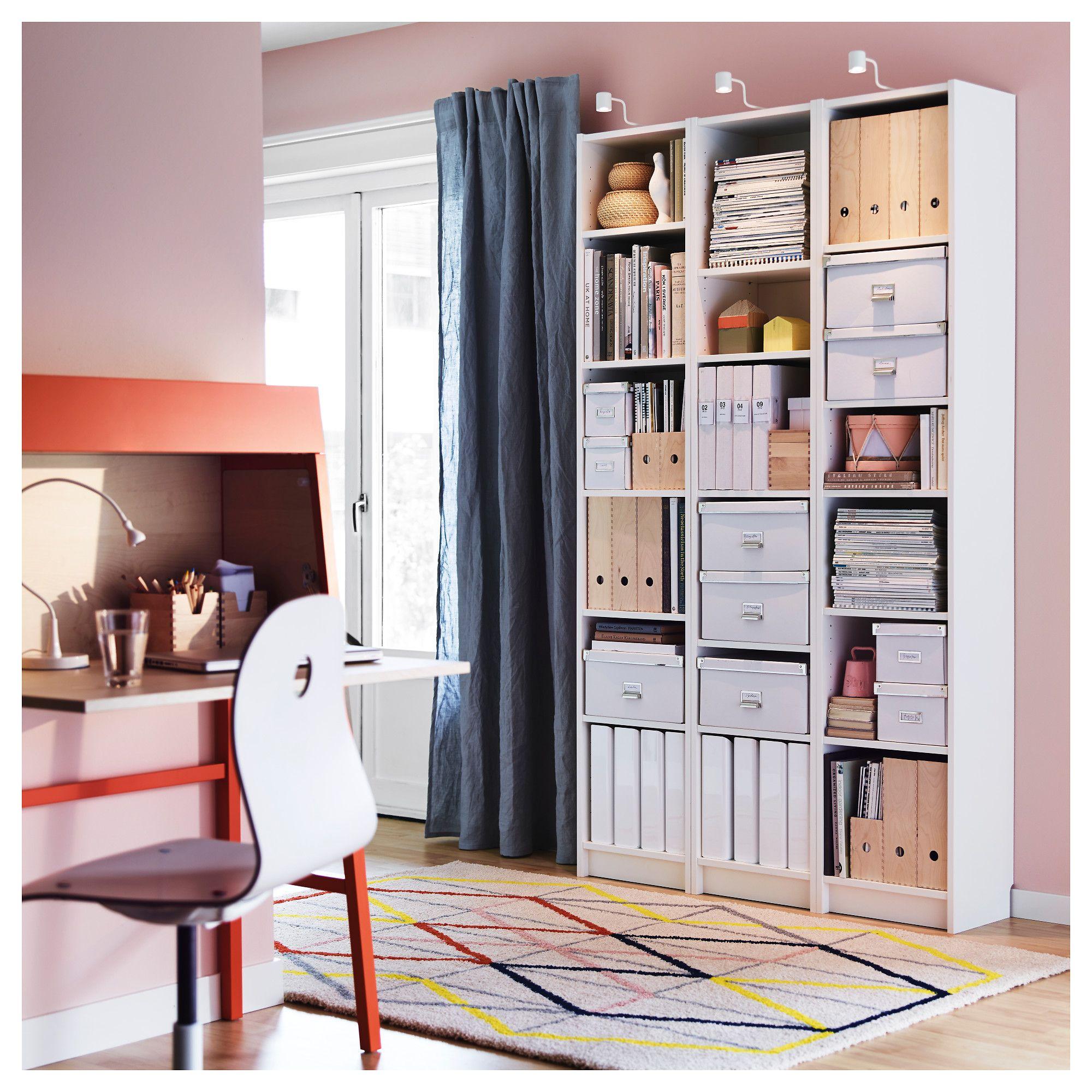 BILLY white, Bookcase, 40x28x202 cm   IKEA   Billy ...