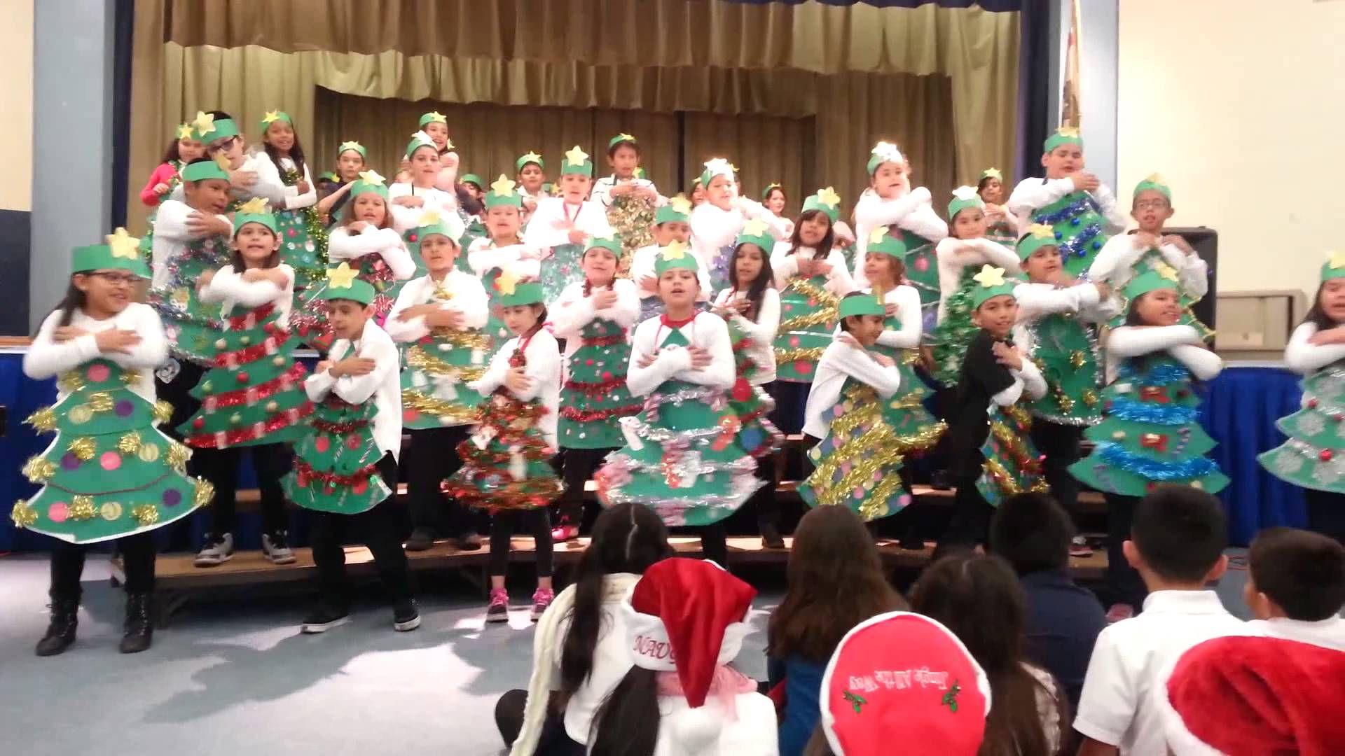 I'm the Happiest Christmas Tree 2014 | Christmas concert, Happy christmas, Christmas program
