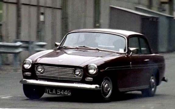 1968 Bristol 410 (Inspector Lynley's car)