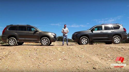 Toyota LandCruiser Prado takes on surprisingly capable Haval H9