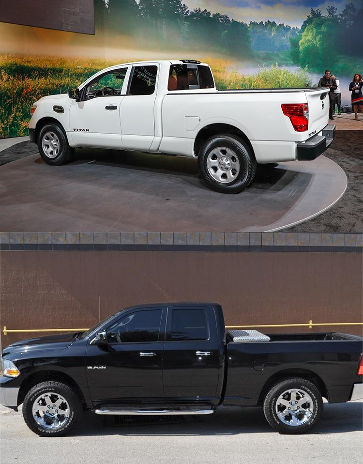 """Which Cab is the True """"King?"""" Ram 1500 Quad Cab v. Nissan"""