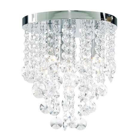 Celeste Tapered Glass Drop Crystal Chandelier