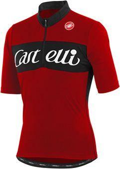 Castelli Gino Wool Short Sleeve Jersey - TourCycling.com