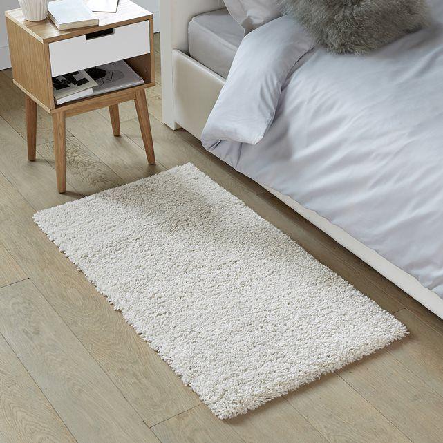Image afaw wool effect shaggy bedside rug la redoute interieurs house pin - Descente de lit mouton ...