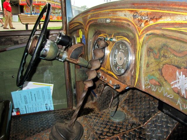 rat rod interiors rat rod interiors pinterest rats cars and truck interior. Black Bedroom Furniture Sets. Home Design Ideas