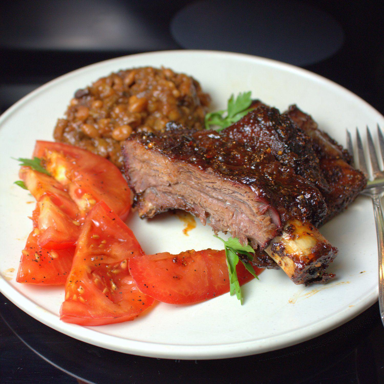 Texas Style Smoked Beef Ribs Smoked beef, Beef ribs, Ribs