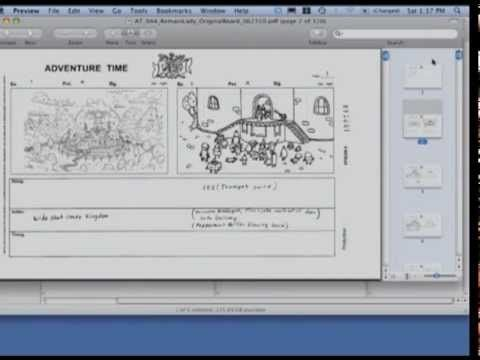 Adventure Time Cartoon Networks Story Process Cole Sanchez Is A Storyboard Artist