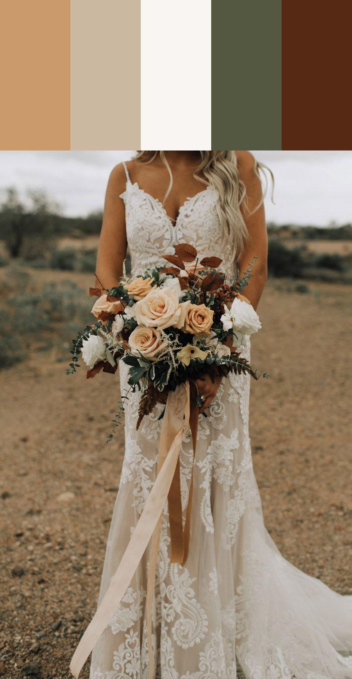 12 Spring Floral Wedding Color Ideas