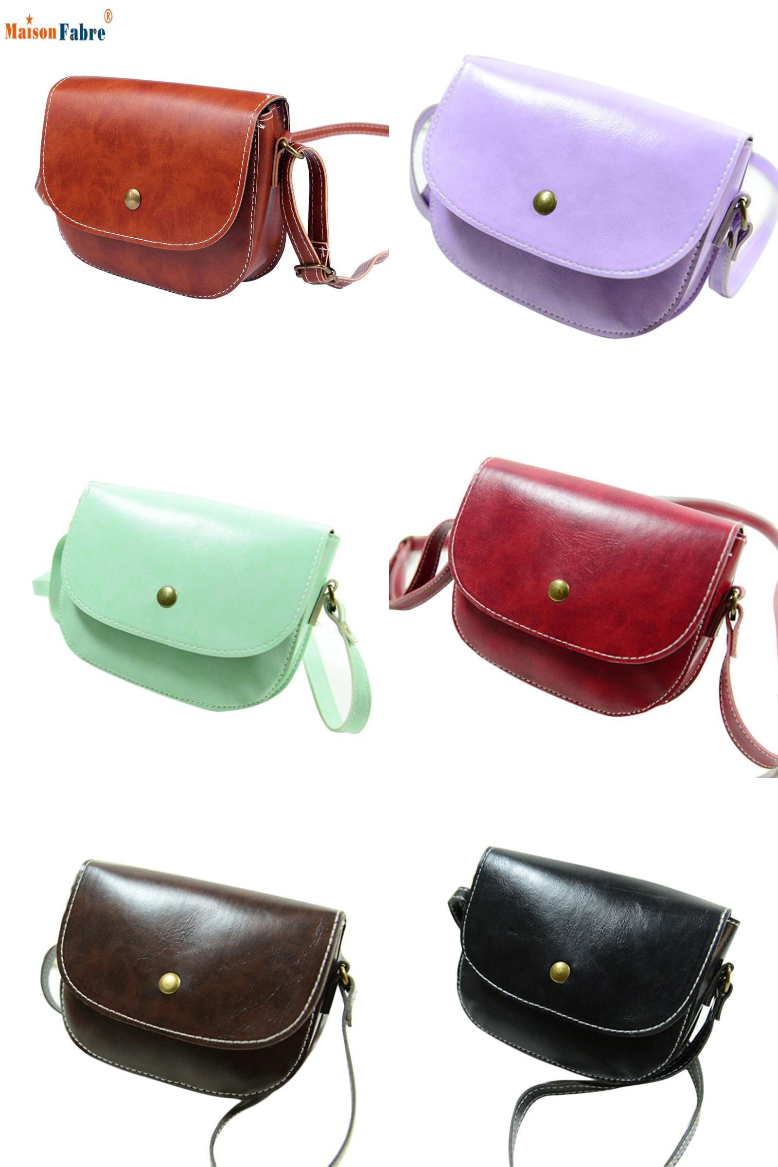 e4239097c9  Visit to Buy  Women Girls New Fashion Zero Purse Bag Pu Leather Retro  Vintage