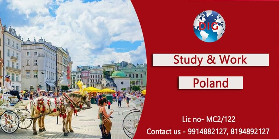 Settle in #Poland * #FEES #AFTER #VISA * 👉🏻 Poland #Study & #Work