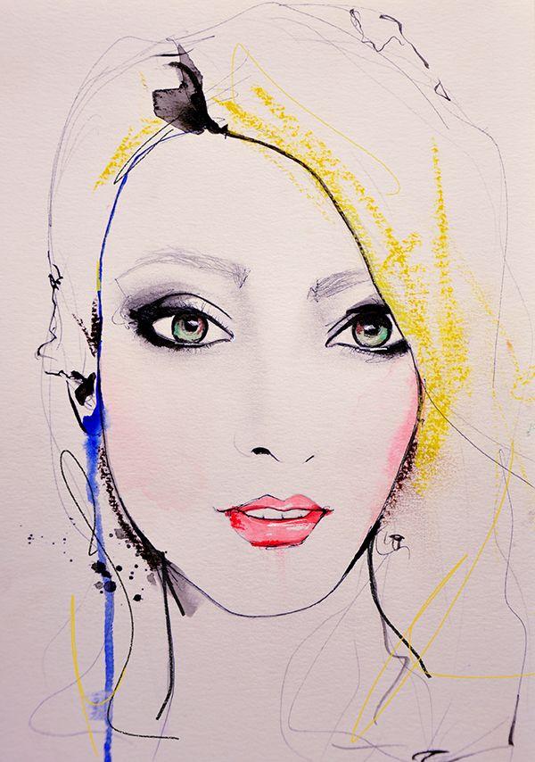 """Meagan"" by Leigh Viner #leighvinerstudio #commission #art #illustration ~"