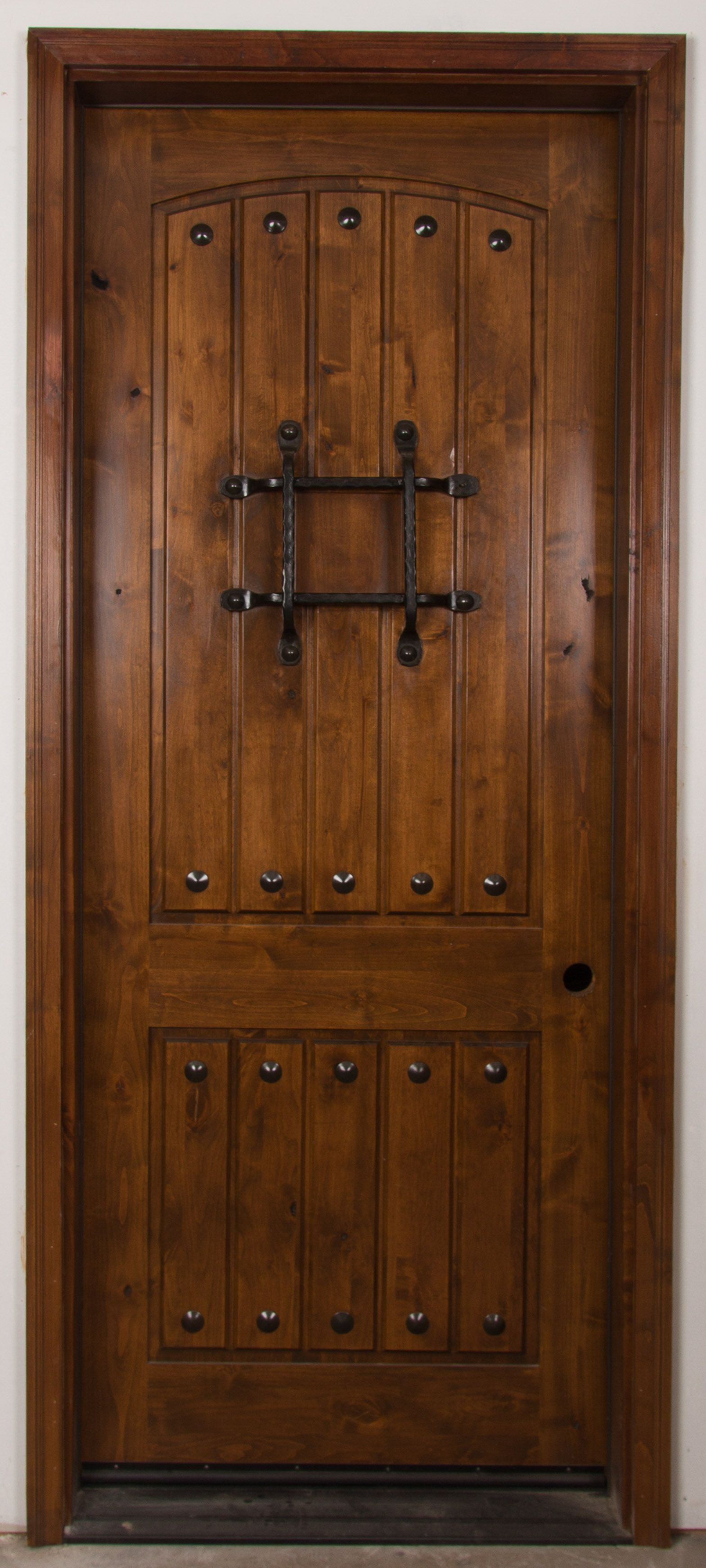 Exterior Front Door - Rustic Knotty Alder FSC® Certified- [RMKA] RMKA | & Exterior Front Door - Rustic Knotty Alder FSC® Certified- [RMKA ...
